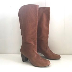 Oh Deer! Andy Leather Riding Boots Copper Accent 8